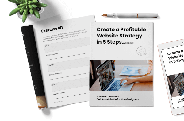 profitable website strategy in 5 steps
