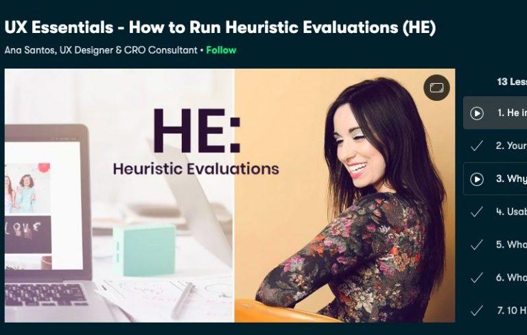 UX essentials Heuristic Evaluation