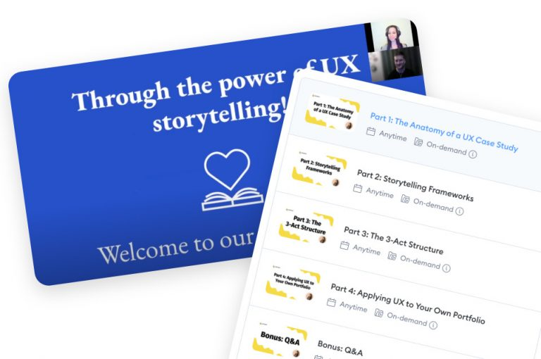 How to use UX storytelling to create a compelling case study