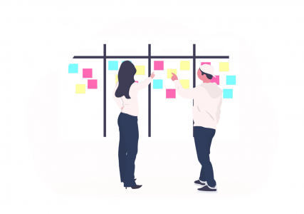 design thinking business concept